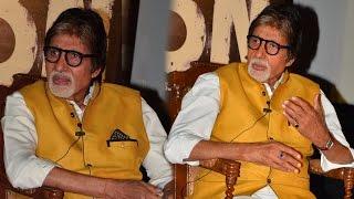 Amitabh Bachchan MOCKS a journalist at TE3N Trailer launch