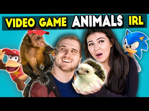 Meeting Video Game Animals In Real Life React