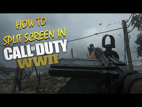Xxx Mp4 HOW TO SPLIT SCREEN IN WWII MULTIPLAYER NAZI ZOMBIES LOCAL PLAY ON PS4 XBOX ONE COD WW2 3gp Sex