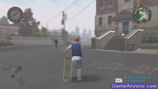 Let's Play Bully - PS2 - 54 - Erand: Stuff 3 Students into Garbages