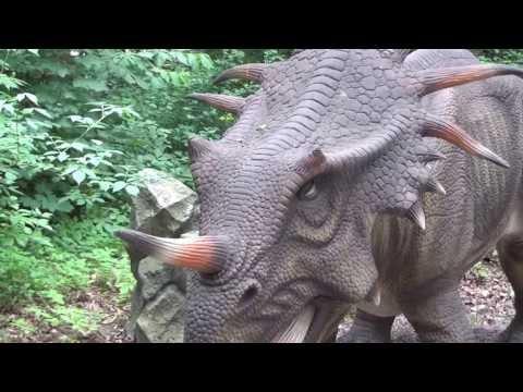Dinozaury Malbork lipiec 2013