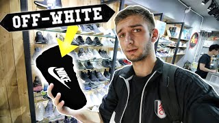 WE FOUND OFF-WHITE x NIKE COLLAB SITTING IN HONG KONG! WHICH PAIRS did THEY have?