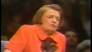 Ayn Rand: 'I Would Never Vote for a Woman President'