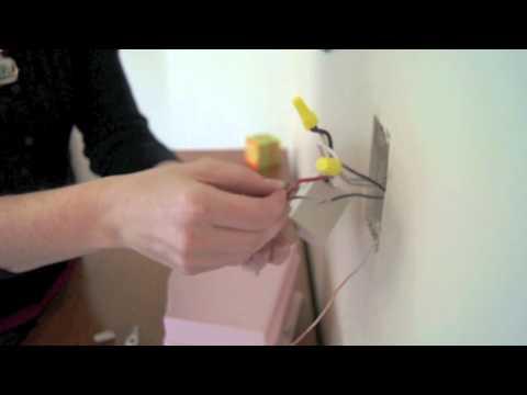 Como instalar un interruptor doble en una luminaria tres vias