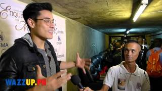 Xian Lim Reaction after Watching Etiquette for Mistresses at the Premiere Night with Kim Chiu