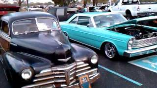 29 Model A, 67 Mustang and Chubby Dicks Chop Shop at the the rock n roll car
