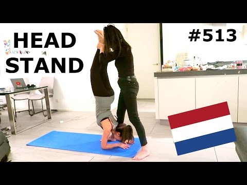BEGINNERS YOGA CLASS AT HOME AMSTERDAM DAY 513 TRAVEL VLOG IV
