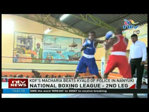 SportPesa National boxing league underway in Nanyuki