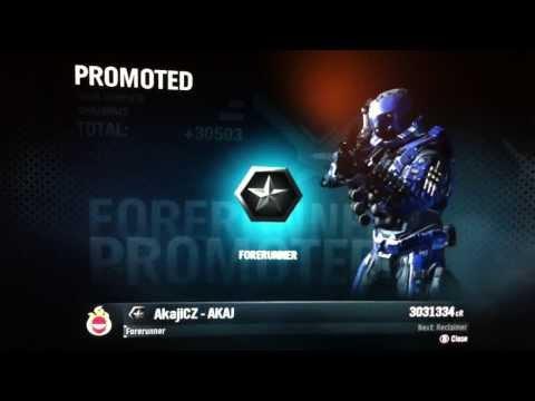 Halo: Reach AkajiCZ Forerunner rank