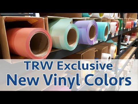 TRW Exclusive: New Vinyl Colors!