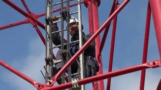 Formation de travail en hauteur en tunisie - Afrique ; Health and Safety: Working at height - HSE
