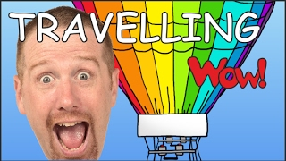Travelling for Kids | English Stories for Children | Steve and Maggie traveling on Wow English TV