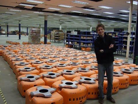 Amazon Warehouse Robots Mind Blowing Video