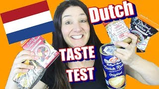 DUTCH Treats Taste Test Spekulatius Spread and more