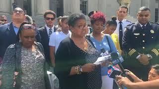 NOPD Officer Daryle Holloway's family speaks after killer's guilty verdict