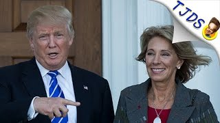 Betsy DeVos- New Education Secretary-KNOWS NOTHING!
