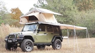 Overland Life Jeep Wrangler Rig Walk Around