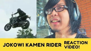 Jokowi Stunt Motor versi Kamen Rider Reaction Video | Asian Games 2018 | ToscaVlog