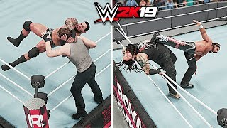 WWE 2K19 All Royal Rumble Finishers!!