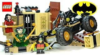LEGO® Batman: Rescue from Ra's al Ghul 76056 DC Comics Super Heroes w/ Robin & Talia Speed Build