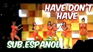 [Sub. Español] Dal shabet - Have, Don't Have (달샤벳) (있기 없기)