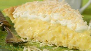 Coconut Cream Pie Recipe Demonstration - Joyofbaking.com