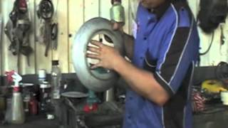 HOW TO MAKE A GAS BOTTLE BBQ - PART 1