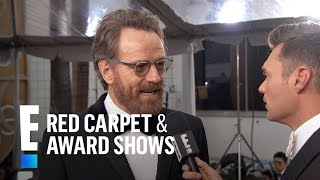 Bryan Cranston Gets Star-struck at 2017 Golden Globes | E! Live from the Red Carpet