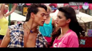 Why was Tiger Shroff shivering while filming Heropanti