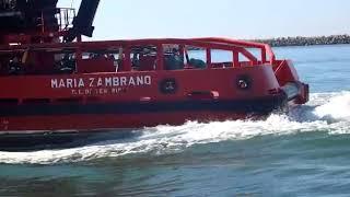 Simulacro Salvamento buque químico Huelva 3
