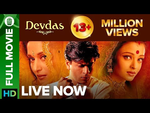 Devdas | Full Movie Live On Eros Now | Shah rukh Khan, Aishwarya Rai, Madhuri Dixit & Jackie Shroff