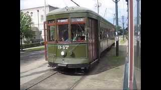 Riding Streetcars in New Orleans