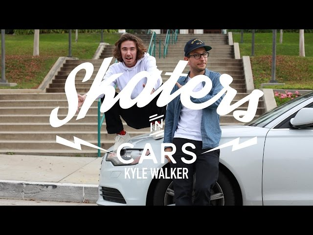 Skaters In Cars: Kyle Walker - Part 1   X Games