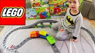 Играем в Лего поезд - LEGO DUPLO Train 10508 - блог Ильи