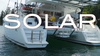 Solar installation on a Lagoon Catamaran, Ep 17, Sailing to Mexico soon, Off the Starboard Hull