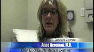 Ector County Medical Examiner Explains Lack of Autopsy in Newborn's Death 2/11/14