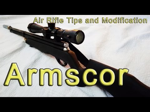 Armscor air rifle, pano pagandahin at mga karanasan part 1