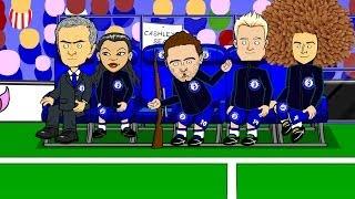 ✌🏻JUAN MATA SONG✌🏻 by 442oons (Chelsea Mourinho Man Utd football cartoon)