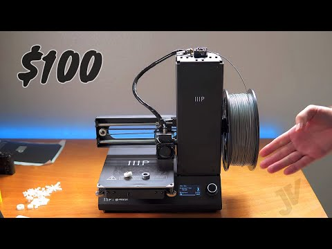 Monoprice MP i3 3D Printer Unbox & Setup