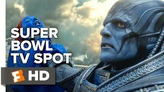 X-Men: Apocalypse Super Bowl TV SPOT (2016) - Jennifer Lawrence Movie HD