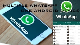 New Whatsapp Trick  - How to Install Multiple Whatsapp On Same Device Without any Application
