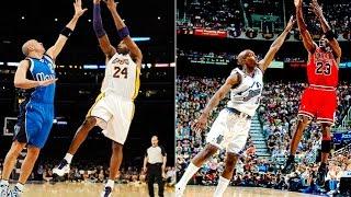 Kobe Bryant Similar Moves to Michael Jordan!!!