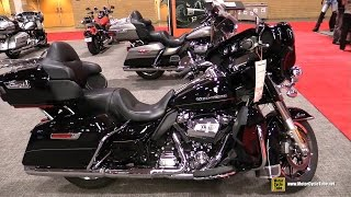 2017 Harley Davidson Ultra Limited Low - Walkaround - 2017 Toronto Motorcycle Show