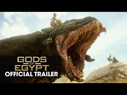 "Gods of Egypt (2016 Movie - Gerard Butler) Official Trailer – ""Battle For Mankind"""