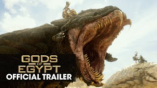 "Gods of Egypt (2016 Movie - Gerard Butler) Official Trailer – ""Battle For Mankind"""