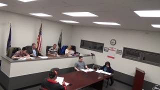 March 20, 2017 - Town Board Meeting