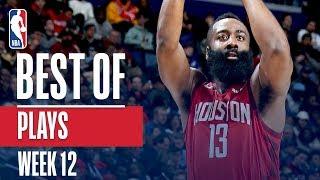 NBA's Best Plays   Week 12
