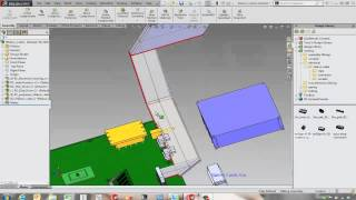 SOLIDWORKS Routing - Ribbon Cables