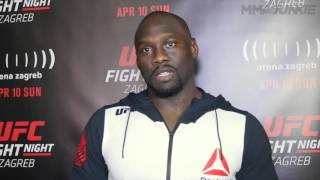 UFC Fight Night 86 Jared Cannonier post fight interview