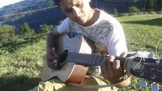 mone megh guitar cover